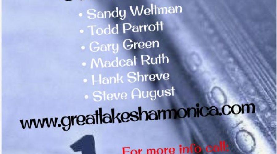 Great Lakes Harmonica Retreat 2019!