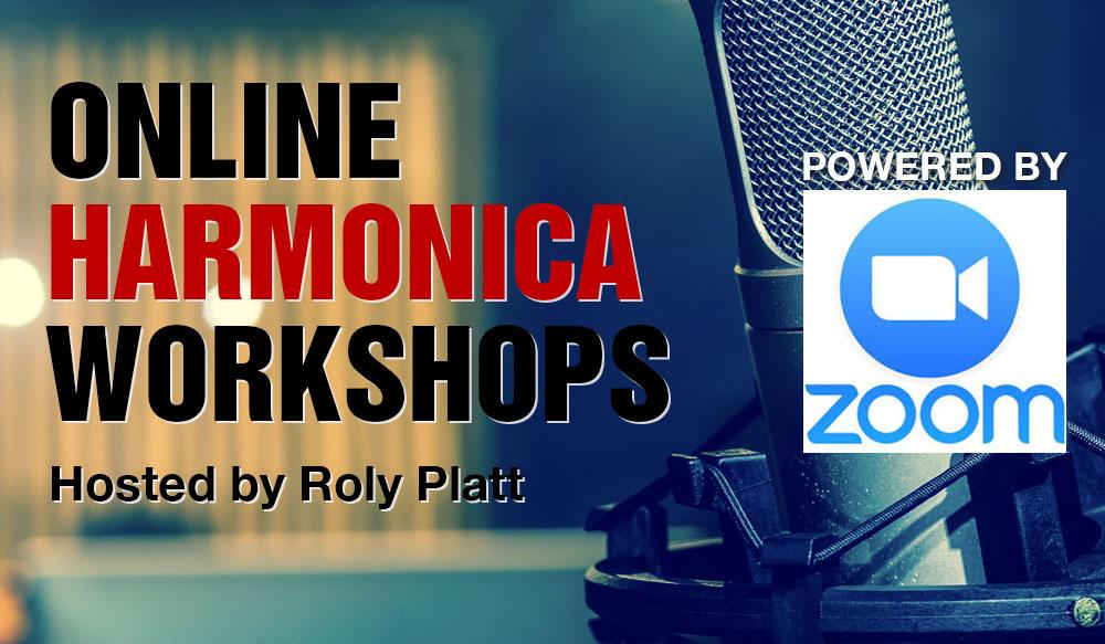 Harmonica workshops Online Roly Platt