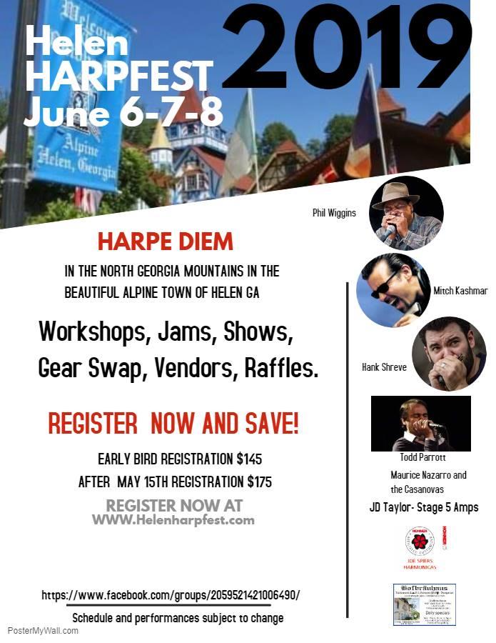 Harmonica Workshops & Retreats