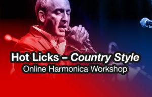 Harmonica Workshop on Country licks
