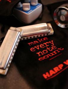 bullet mic & harmonica bags - soft drawstring pouches