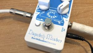Dispatch Master a Reverb delay pedal for harmonica