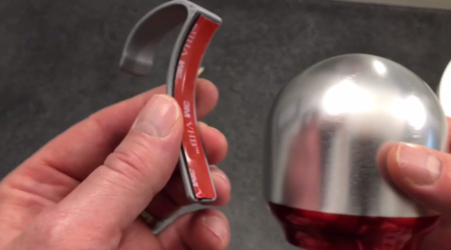 """Installing The """"Wah Claw"""" Handle – (with 3M Tape Strip)"""