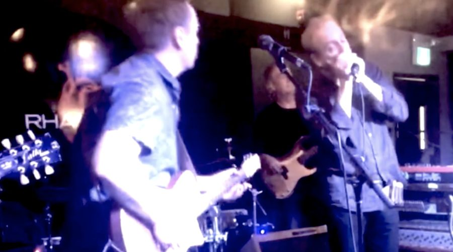 Roly Platt on Harmonica – Willin' Little Feat