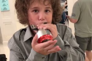 11 Year Old Michael Mendelson…
