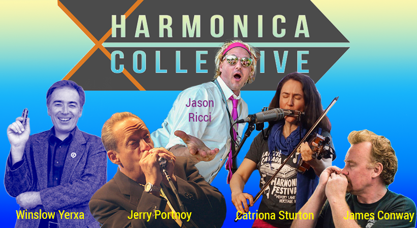 Harmonica Collective Jason Ricci Winslow Yerxa