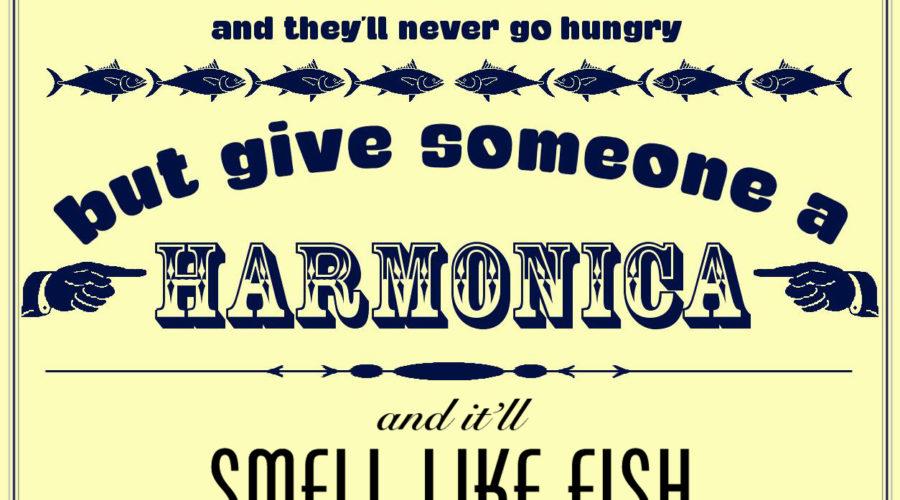 Harmonica – Smells Like Fish