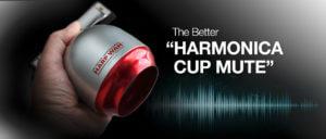 Harmonica Cup Mute Device