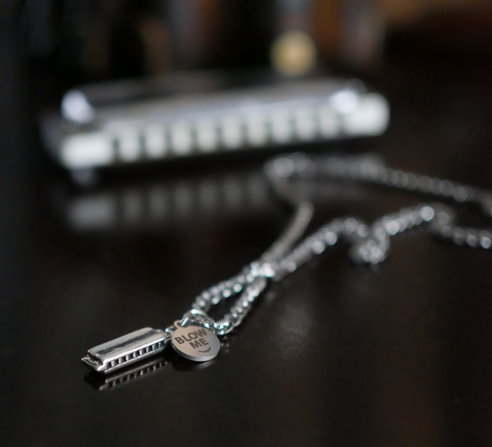 Funny, Unique Gift for Harmonica Players