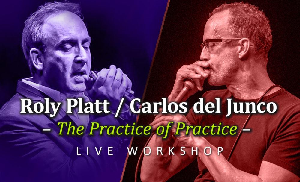 """(Workshop) Carlos del Junco & Roly Platt: """"The Practice of Practice"""""""